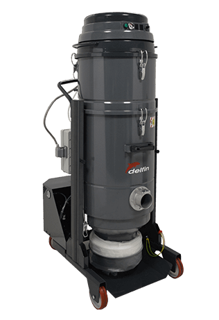 XTRACTOR 2BL INDUSTRIAL VACUUM CLEANER FOR FINE DUST EXTRACTION IN CONTINUOUS DUTY